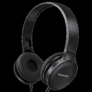 Panasonic RP-HF100E-K crne stereo slušalice