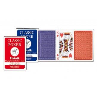 Piatnik Karte 1/1-Classic Pok 132117