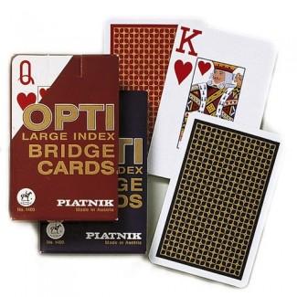 Piatnik karte 1/1-OPTI BRIDGE 1400