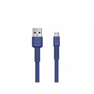 REMAX Armor RC-116m USB Data Cable  Micro (2.4A) Plavi 1m