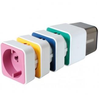 Somogyi Elektronic AC04/4 uzemljeni adapter priključci za putovanja