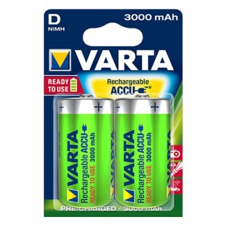 Varta D Power 1/2 1.2V 3000mAh Ni-MH Ready2Use punjiva baterija