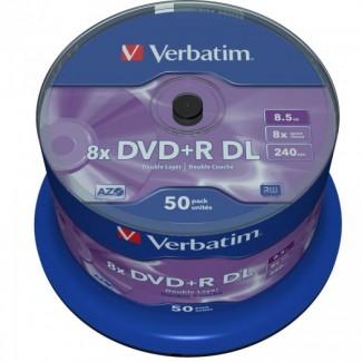 Verbatim DVD+R 8.5Gb 8x Double Layer Printable 1/50