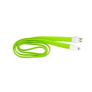 Vip USB Data Cable Remax RC-011i Full Speed za iPhone 5/6 (2A) zeleni 1m