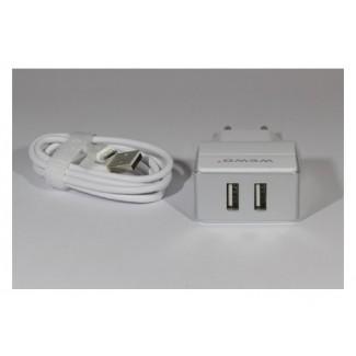 Vip WEWO W-004 2 x USB 2400mA punjač + micro USB cabel