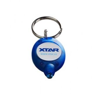 XTAR XPK-2 LED lampa privezak plava