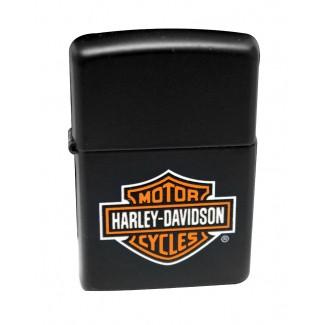 Zippo Z218HD H252 Harley-Davidson Logo Black Matte upaljač