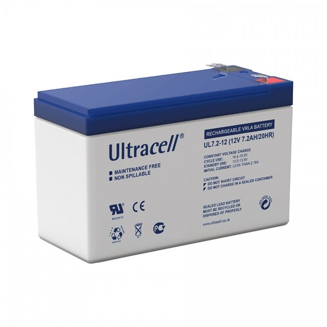 Ultracell UL7.2-12 12V 7.2Ah SLA stacionarni akumulator