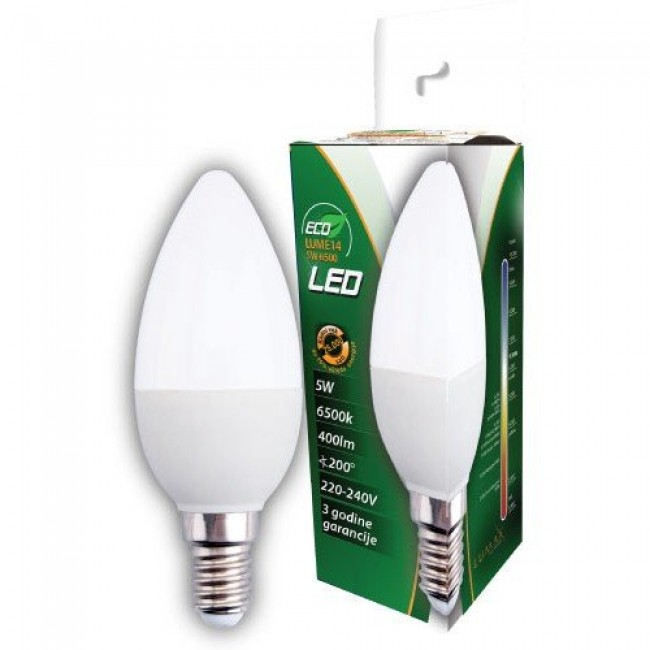 Lumax ECO LUME14 R50-5W 6500K 400lm LED sijalica