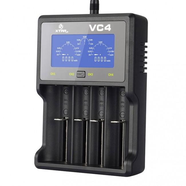 XTAR VC4 punjač Li-ion/Ni-MH/Ni-Cd baterija