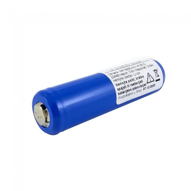 LG INR18650-MJ1-PCB 3.7V 3500mAh (10A) Li-ion punjiva baterija sa zaštitnom elektronikom