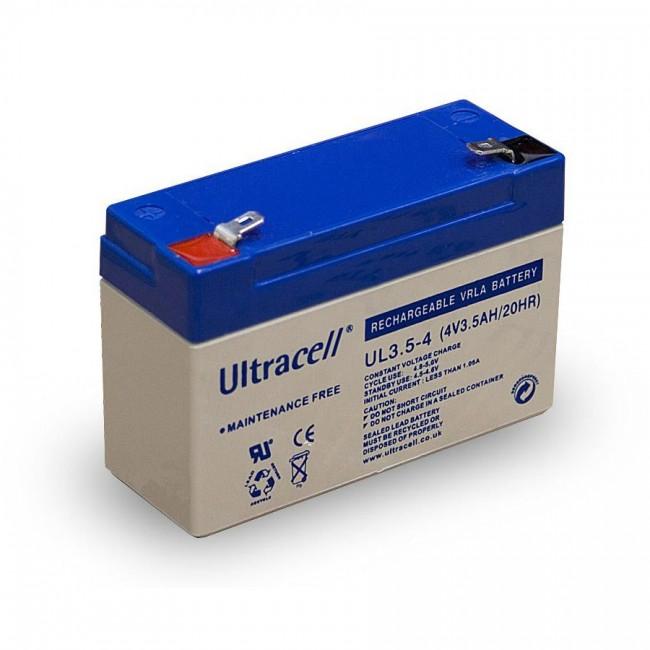 Ultracell UL3.5-4 4V 3.5Ah SLA stacionarni akumulator