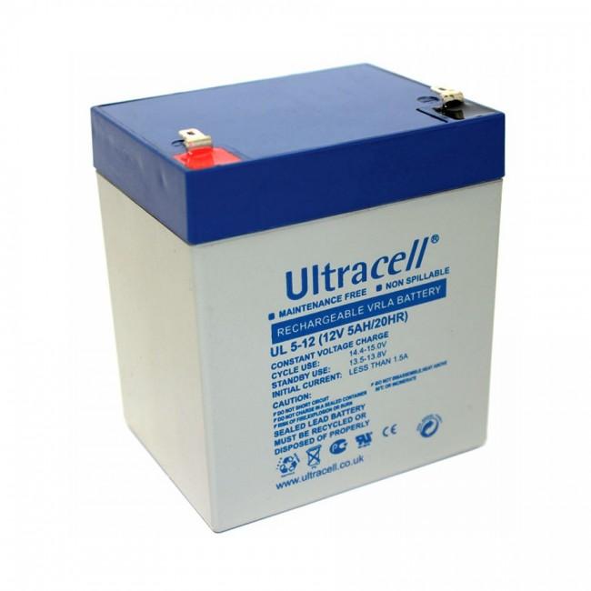 Ultracell UL5-12 12V 5Ah SLA stacionarni akumulator