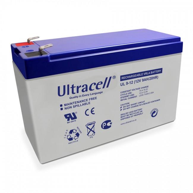 Ultracell UL9-12 12V 9Ah SLA stacionarna baterija