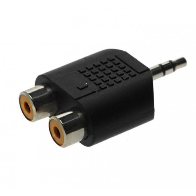 Adapter AC17 2xčinč uticnica - 3,5mm st.utikač