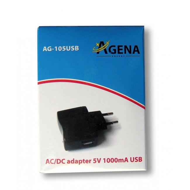 Agena Energy AG-105USB 5V 1000mA AC/DC adapter