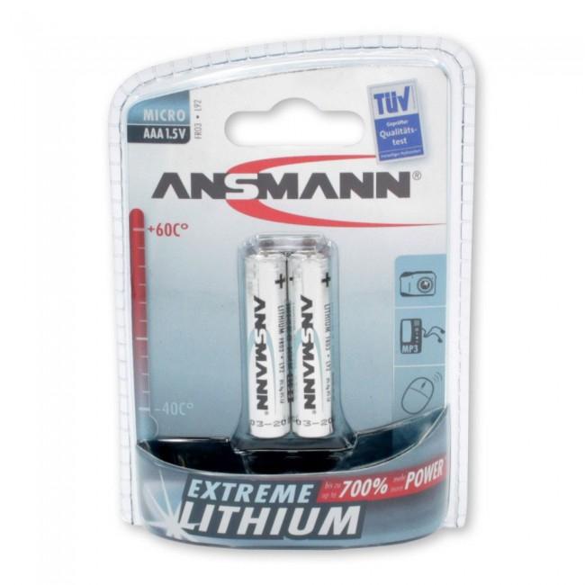 Ansmann Extreme AAA 1.5V 1/2 litijumska baterija