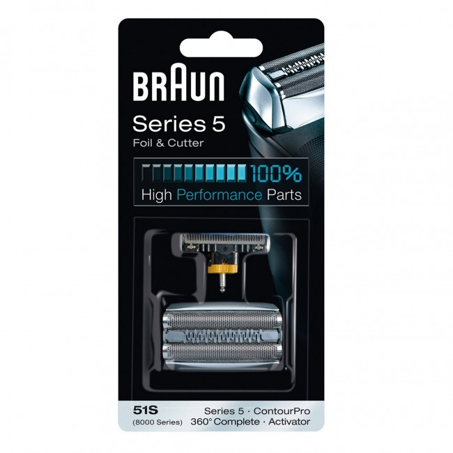 Braun Combipack 51S (8000 series) Activator mrežica+nožić