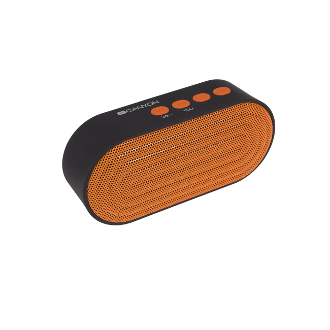 Canyon CNE-CBTSP3BO crni/oranž portable bluetooth