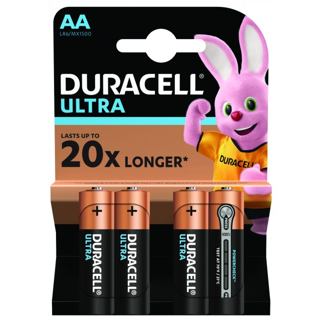 Duracell ULTRA LR6 1/4 1.5V alkalna baterija