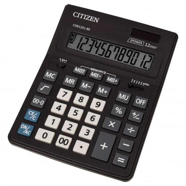 Citizen CDB-1201-BK 12 cifara stoni poslovni kalkulator