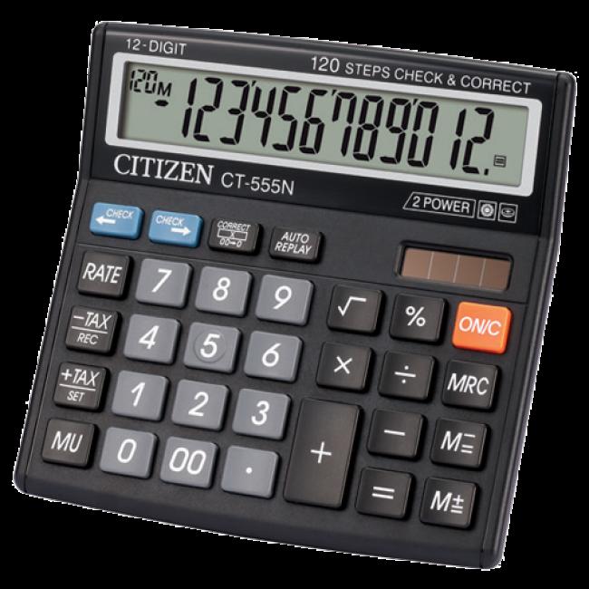 Citizen CT-555N 12 cifara kalkulator