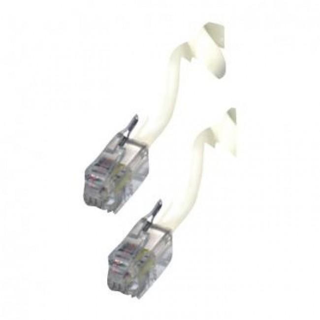 Kabel T6-3 spiralni za telefonsku slušalicu 3m