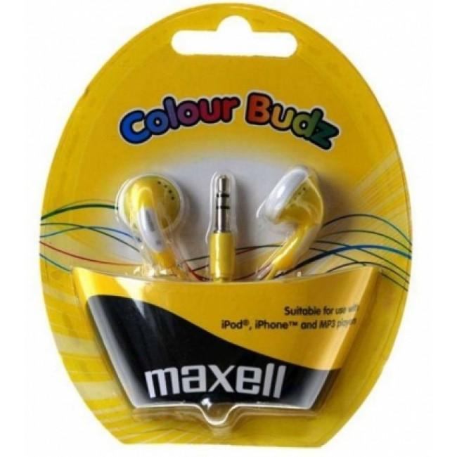 Maxell CB-Yellow stereo slušalice bubice
