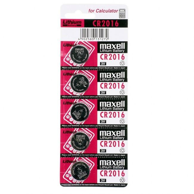 Maxell CR2016 1/5 3V litijumska baterija