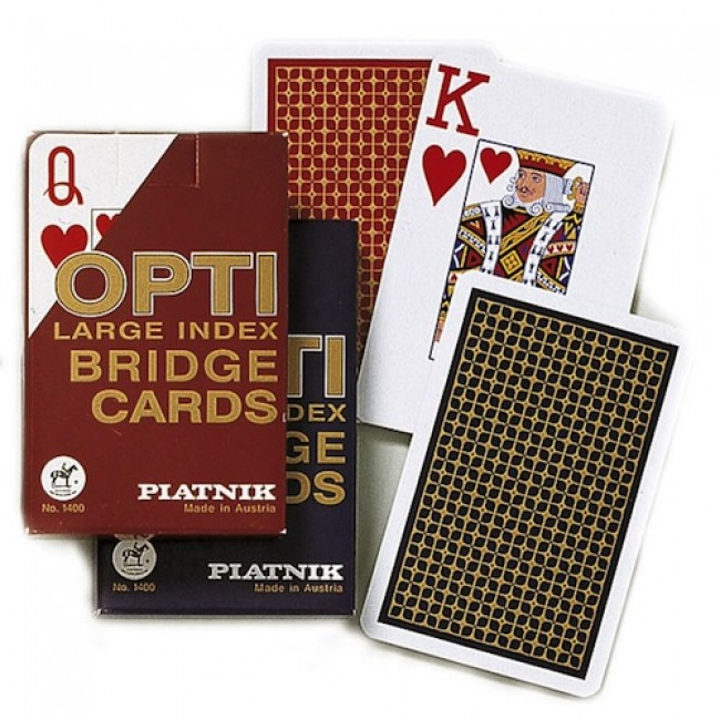 Piatnik karte 1/1-OPTI BRIDGE 1400