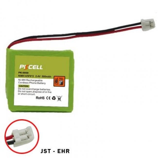 PKCELL PK-0059 2x4/5F6 2.4V 500mAh Ni-MH baterija za bežični telefon