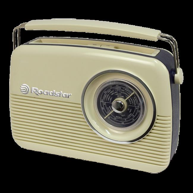 Roadstar TRA-1957/cr krem tranzistor