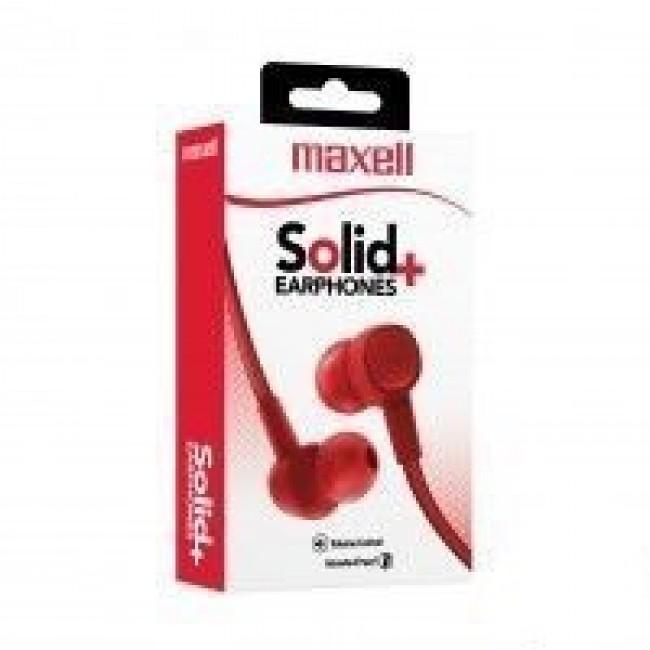 Maxell SIN-8 Solid flat Fuji crvene slušalice