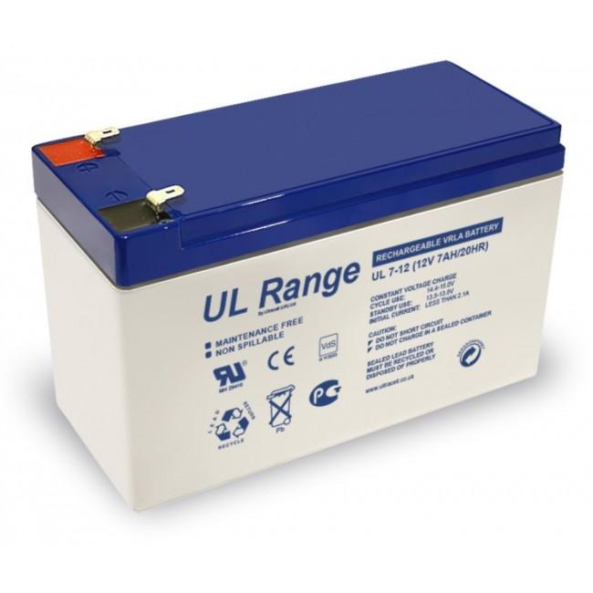 Ultracell UL7-12 12V 7Ah SLA stacionarni akumulator
