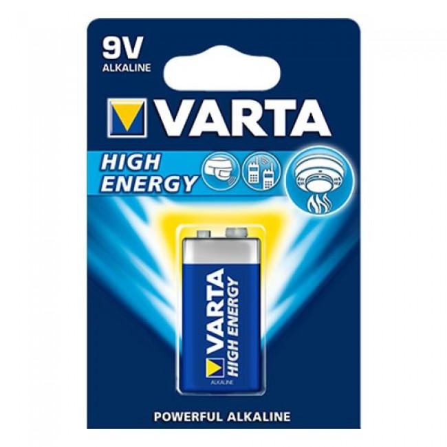 Varta High Energy 6LR61 9V alkalna baterija
