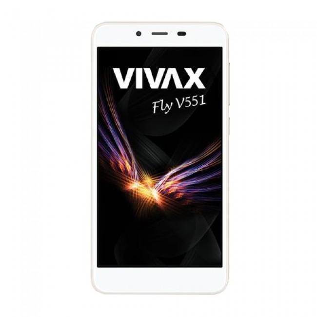Vivax V551 Smart Fly zlatni mob.tel.+ silikonska maska V551