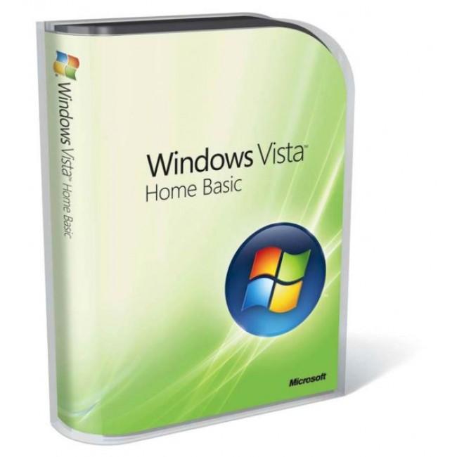 Windows Vista Home Basic Engl 32-bit 1pk OEM DVD